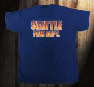 Seattle Fire Department tshirt